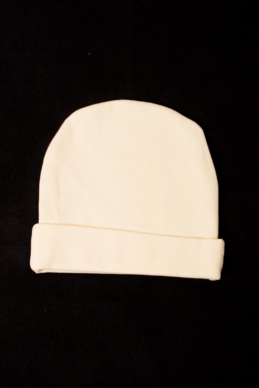 ШапкаШапочки<br>Хлопковая шапочка для новорожденногоЦвет: желтыйРазмер соответствует объему головы в сантиметрах<br><br>Сезон: Всесезон<br>Размер : 44,52<br>Материал: Хлопок<br>Количество в наличии: 2