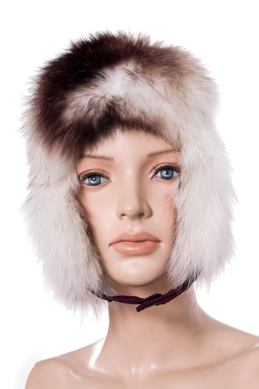 УшанкаГоловные уборы<br>Шапка-ушанка из натурального меха.  Цвет: бордовый  Размер: 52-54 см.  Обхват головы измеряется по лобной части над уровнем бровей (на 2-3 сантиметра выше) и по самой выпуклой затылочной части.<br><br>По сезону: Зима<br>Размер : 52-54<br>Материал: Натуральный мех<br>Количество в наличии: 1