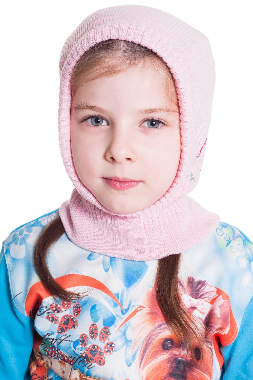 ШапкаГоловные уборы<br>Шапочка для девочки защитит Вашего ребенка от непогоды и поднимет настроение.  Цвет: розовый<br><br>По сезону: Осень,Весна<br>Размер: 52-54<br>Материал: 100% акрил<br>Количество в наличии: 1
