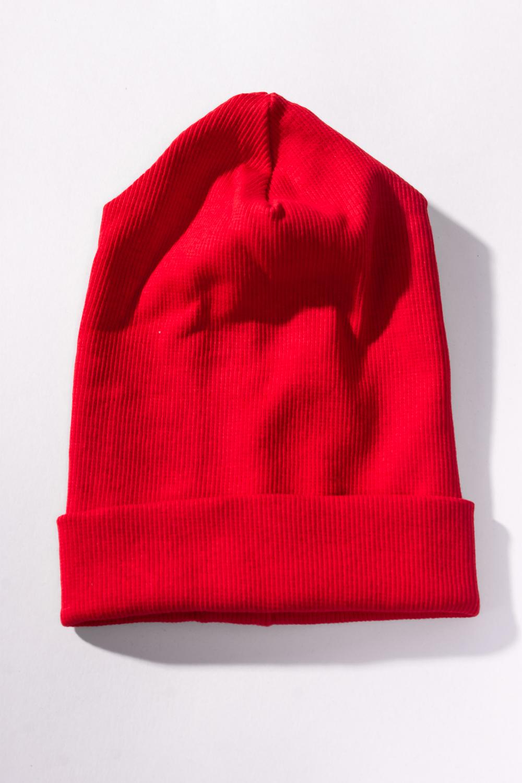 ШапкаШапочки<br>Шапочка для новорожденного из мягкого хлопка.  Цвет: красный  Размер соответствует обхвату головы.<br><br>Размер : 36,38,40,45,47<br>Материал: Трикотаж<br>Количество в наличии: 6