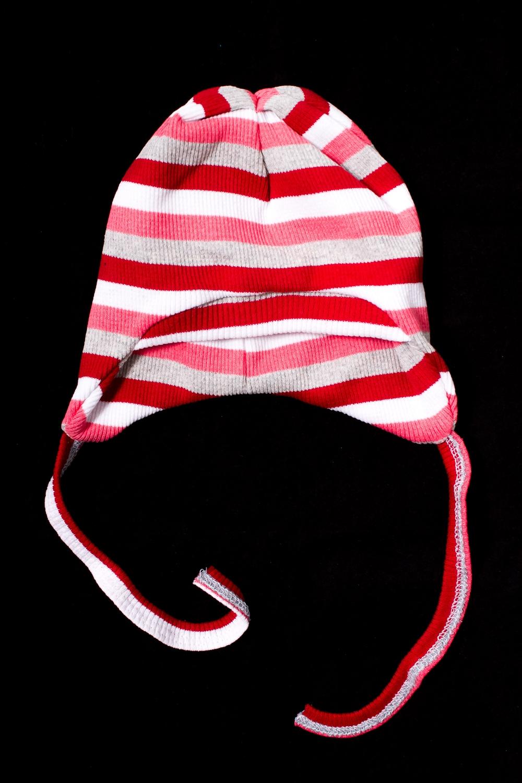 ШапочкаШапочки<br>Трикотажная шапочка для новорожденного  В изделии использованы цвета: красный, розовый, серый  Размер соответствует объему головы в сантиметрах<br><br>По сезону: Всесезон<br>Размер : 46,48<br>Материал: Трикотаж<br>Количество в наличии: 2