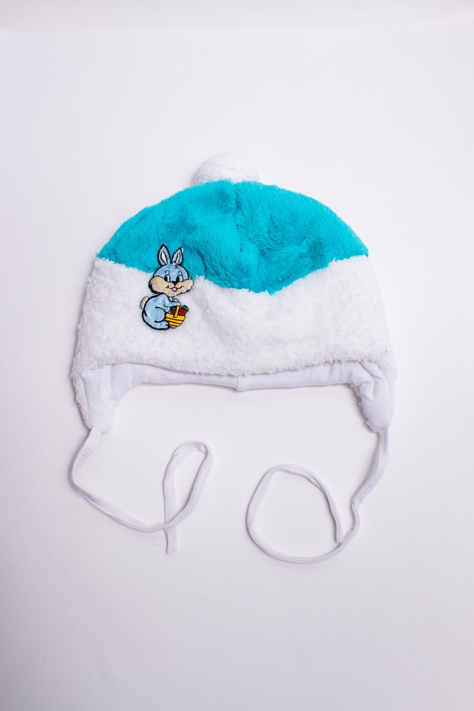 ШапкаГоловные уборы<br>Мягкая шапка для мальчика. Подклад из мягкой вискозы, утеплитель синтепон.  В изделии использованы цвета: голубой, белый  Размер соответствует обхвату головы в сантиметрах.<br><br>По сезону: Всесезон<br>Размер : 42,46<br>Материал: Велсофт<br>Количество в наличии: 2
