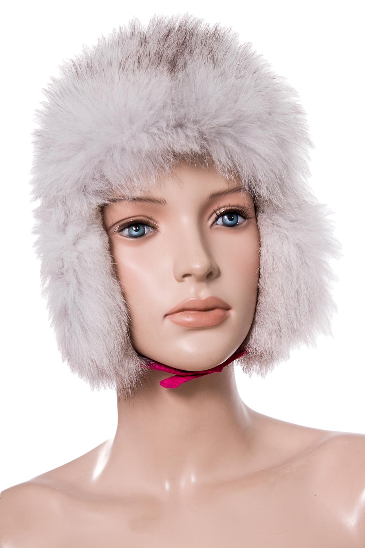 УшанкаГоловные уборы<br>Шапка-ушанка из натурального меха.  Цвет: розовый  Размер: 52-54 см.  Обхват головы измеряется по лобной части над уровнем бровей (на 2-3 сантиметра выше) и по самой выпуклой затылочной части.<br><br>По сезону: Зима<br>Размер : 52-54<br>Материал: Натуральный мех<br>Количество в наличии: 1