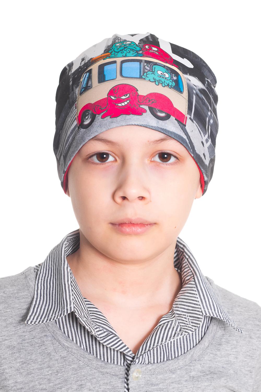 ШапкаГоловные уборы<br>Трикотажная шапка для мальчика  Цвет: серый, розовый, голубой  Размер равен обхвату головы в сантиметрах.  Обхват головы измеряется по лобной части над уровнем бровей (на 2-3 сантиметра выше) и по самой выпуклой затылочной части.<br><br>По сезону: Осень,Весна<br>Размер : 52<br>Материал: Трикотаж<br>Количество в наличии: 1