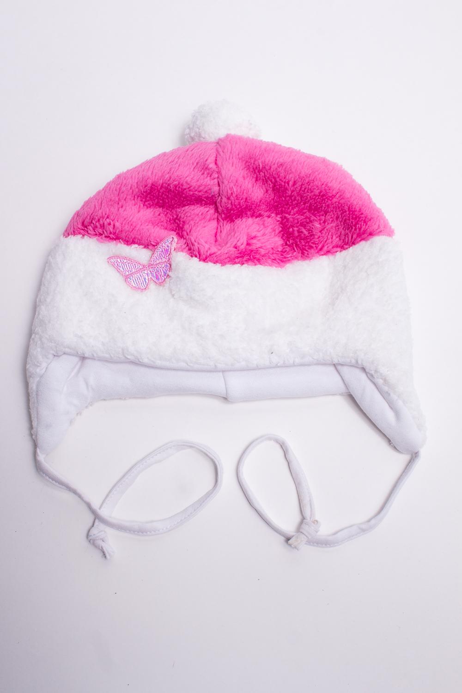 ШапкаГоловные уборы<br>Мягкая шапка для девочки. Подклад из мягкой вискозы, утеплитель синтепон.  В изделии использованы цвета: розовый, белый  Размер соответствует обхвату головы в сантиметрах.<br><br>По сезону: Всесезон<br>Размер : 42<br>Материал: Велсофт<br>Количество в наличии: 1