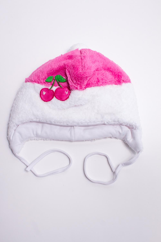ШапкаГоловные уборы<br>Мягкая шапка для девочки. Подклад из мягкой вискозы, утеплитель синтепон.  В изделии использованы цвета: розовый, белый  Размер соответствует обхвату головы в сантиметрах.<br><br>По сезону: Всесезон<br>Размер : 46<br>Материал: Велсофт<br>Количество в наличии: 1