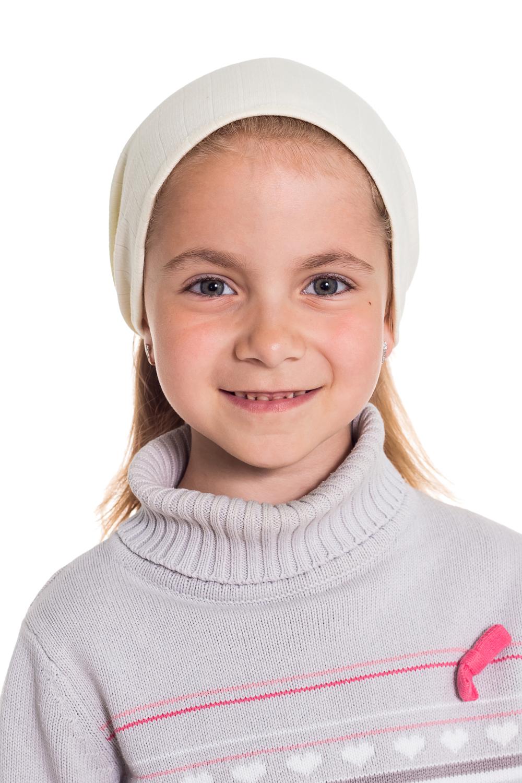 КосынкаГоловные уборы<br>Трикотажная косынка защитит голову Вашего ребенка от непогоды и поднимет настроение.  Цвет: молочный  Размер равен обхвату головы в сантиметрах.  Обхват головы измеряется по лобной части над уровнем бровей (на 2-3 сантиметра выше) и по самой выпуклой затылочной части.<br><br>По сезону: Лето<br>Размер : 40-45,45-50<br>Материал: Трикотаж<br>Количество в наличии: 2