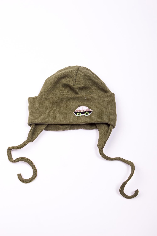 ШапкаГоловные уборы<br>Мягкая шапка для мальчика  В изделии использованы цвета: зеленый  Размер соответствует обхвату головы в сантиметрах.<br><br>По сезону: Осень,Весна<br>Размер : 44,48<br>Материал: Трикотаж<br>Количество в наличии: 2