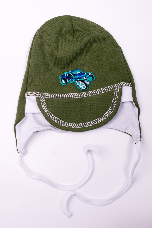 ШапкаГоловные уборы<br>Мягкая шапка для мальчика  В изделии использованы цвета: зеленый, белый  Размер соответствует обхвату головы в сантиметрах.<br><br>По сезону: Осень,Весна<br>Размер : 50<br>Материал: Трикотаж<br>Количество в наличии: 1