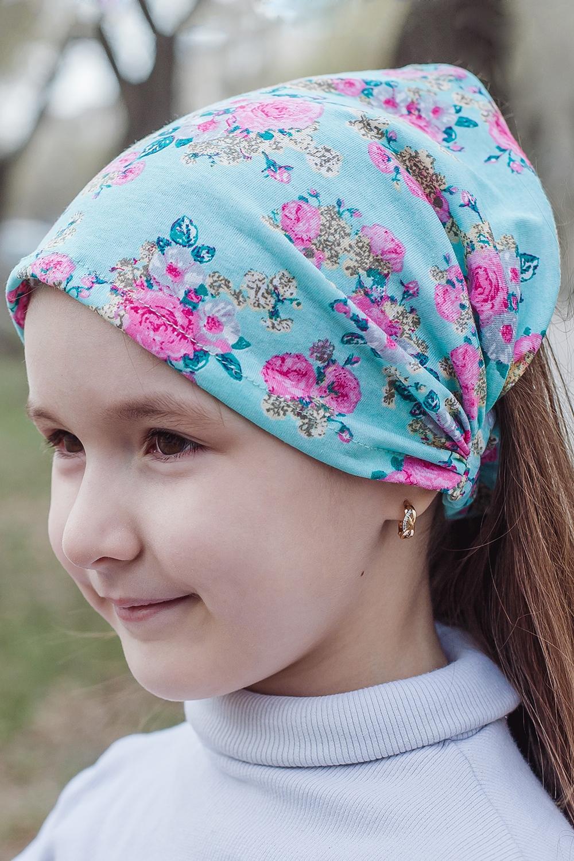КосынкаГоловные уборы<br>Трикотажная косынка защитит голову Вашего ребенка от непогоды и поднимет настроение.  Цвет: мятный, розовый  Размер равен обхвату головы в сантиметрах.  Обхват головы измеряется по лобной части над уровнем бровей (на 2-3 сантиметра выше) и по самой выпуклой затылочной части.<br><br>По сезону: Лето<br>Размер : 40-45,45-50<br>Материал: Трикотаж<br>Количество в наличии: 2