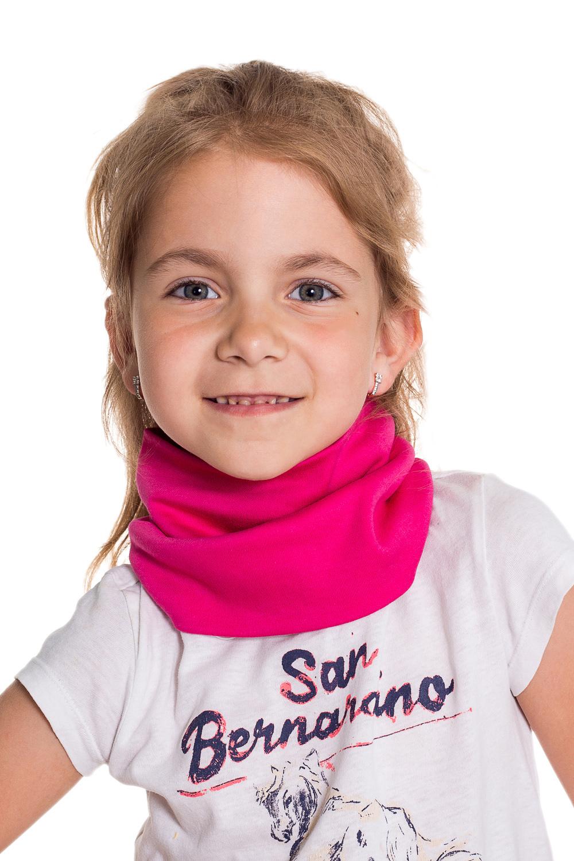 СнудПлатки и шарфы<br>Снуд защитит Вашего ребенка от непогоды и поднимет настроение.  Цвет: фуксия<br><br>По сезону: Осень,Весна<br>Размер : 40-45,45-50,50-55<br>Материал: Трикотаж<br>Количество в наличии: 4