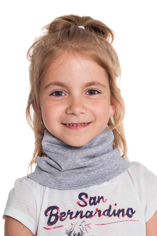 СнудПлатки и шарфы<br>Снуд защитит Вашего ребенка от непогоды и поднимет настроение.  Цвет: серый<br><br>По сезону: Осень,Весна<br>Размер : 40-45,45-50,50-55<br>Материал: Трикотаж<br>Количество в наличии: 9