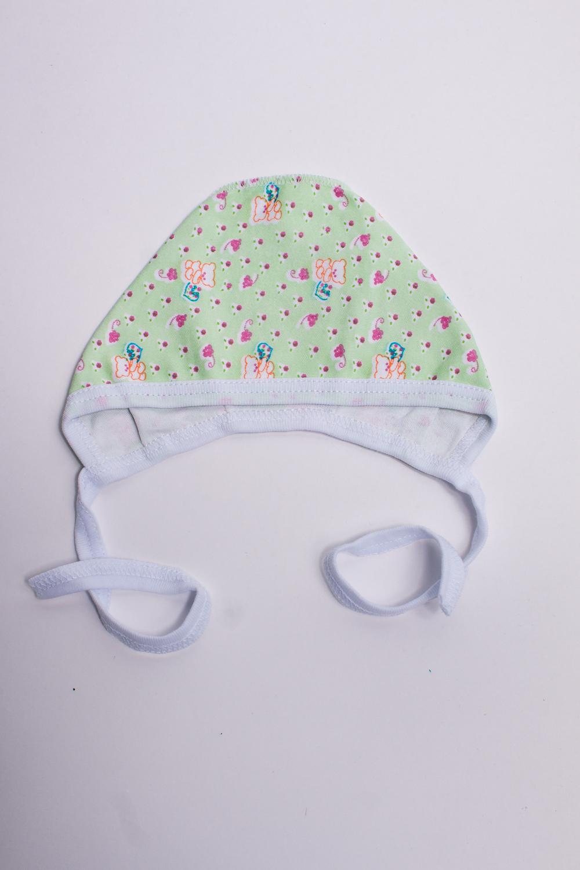 ЧепчикШапочки<br>Хлопковый чепчик для новорожденного.В изделии использованы цвета: зеленый и др.Размер соответствует обхвату головы в сантиметрах.<br><br>Сезон: Всесезон<br>Размер : 38<br>Материал: Трикотаж<br>Количество в наличии: 2