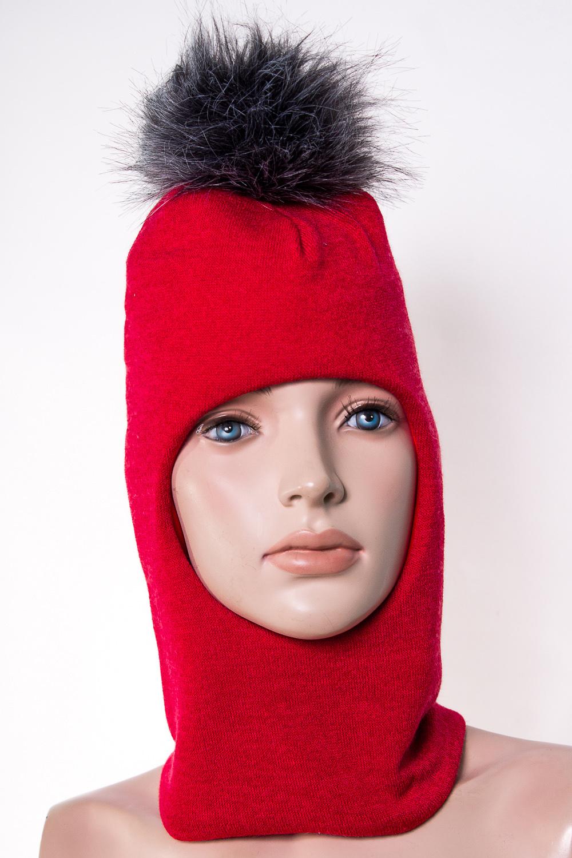 ШлемГоловные уборы<br>Шлем для девочки защитит Вашего ребенка от непогоды и поднимет настроение.  Размер равен обхвату головы в сантиметрах.  Верхний слой - трикотаж,  подклад – хлопок, утеплитель – холлофайбер, помпон из искусственного меха.  В изделии использованы цвета: красный<br><br>По сезону: Зима<br>Размер : 50-54,54-58<br>Материал: Вязаное полотно<br>Количество в наличии: 2