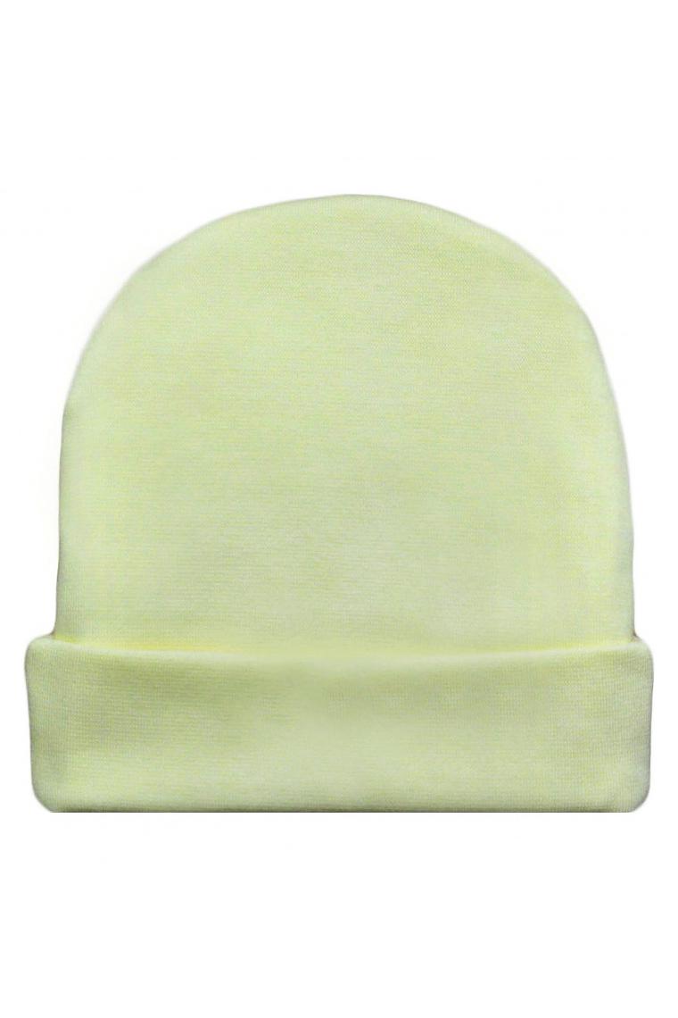 ШапкаШапочки<br>Хлопковая шапочка для новорожденного  Цвет: зеленый  Размер соответствует объему головы в сантиметрах<br><br>По сезону: Всесезон<br>Размер : 52<br>Материал: Хлопок<br>Количество в наличии: 1