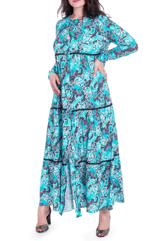 ХалатХалаты<br>Цветной домашний халат в пол с длинными рукавами. Модель выполнена из хлопкового трикотажа. Отличный выбор для домашнего отдыха.  В изделии использованы цвета: голубой и др.  Рост девушки-фотомодели 180 см<br><br>Горловина: С- горловина<br>По длине: Макси<br>По материалу: Трикотаж,Хлопок<br>По рисунку: С принтом,Цветные,Этнические<br>По силуэту: Свободные<br>Рукав: Длинный рукав<br>По сезону: Всесезон<br>Размер : 48,50<br>Материал: Трикотаж<br>Количество в наличии: 2