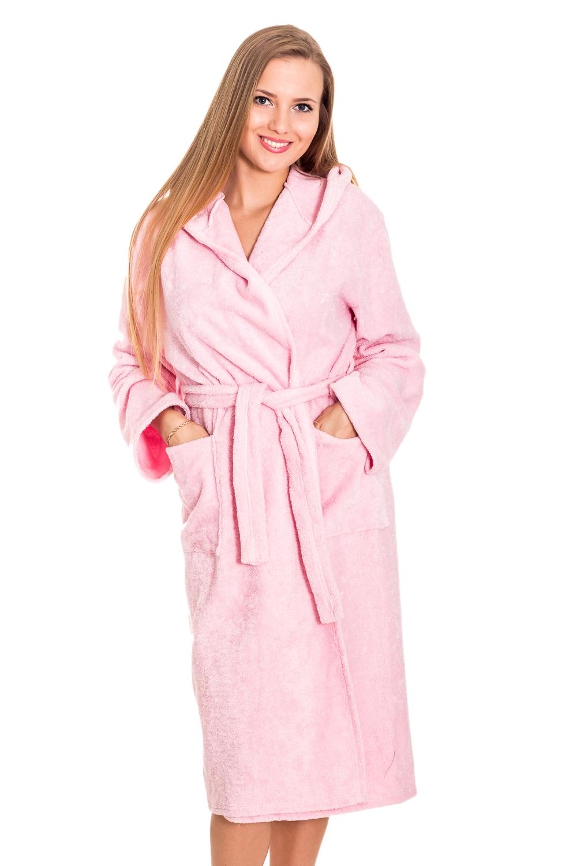 ХалатХалаты<br>Хлопковый халат с длинными рукавами. Домашняя одежда, прежде всего, должна быть удобной, практичной и красивой. В нашей домашней одежде Вы будете чувствовать себя комфортно, особенно, по вечерам после трудового дня. Халат без пояса.  Цвет: розовый  Рост девушки-фотомодели 170 см.<br><br>Горловина: Запах<br>По рисунку: Однотонные<br>По силуэту: Полуприталенные<br>По элементам: С карманами<br>Рукав: Длинный рукав<br>По сезону: Лето<br>По длине: Ниже колена<br>По материалу: Хлопок<br>Размер : 42-44<br>Материал: Хлопок<br>Количество в наличии: 1