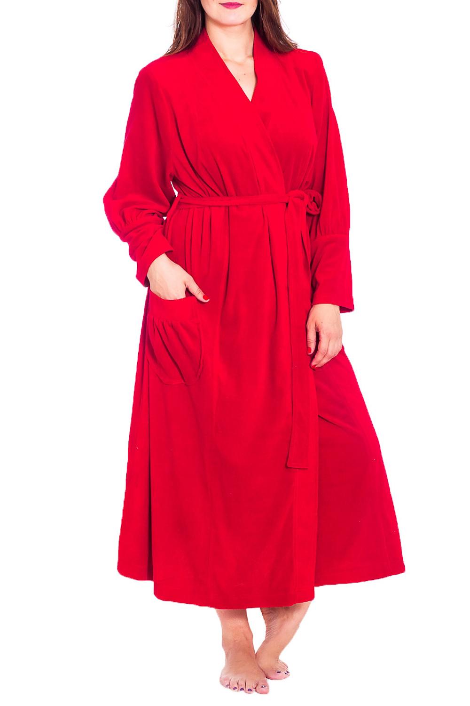 ХалатХалаты<br>Хлопковый халат на запах. Домашняя одежда, прежде всего, должна быть удобной, практичной и красивой. В нашей домашней одежде Вы будете чувствовать себя комфортно, особенно, по вечерам после трудового дня. Халат без пояса.  Цвет: красный  Рост девушки-фотомодели 180 см<br><br>Горловина: V- горловина,Запах<br>По материалу: Махровые,Хлопок<br>По рисунку: Однотонные<br>По элементам: С карманами<br>Рукав: Длинный рукав<br>По сезону: Всесезон<br>По длине: Ниже колена<br>Размер : 60,62,64,66,68,70,72,74,76,78<br>Материал: Махровое полотно<br>Количество в наличии: 14