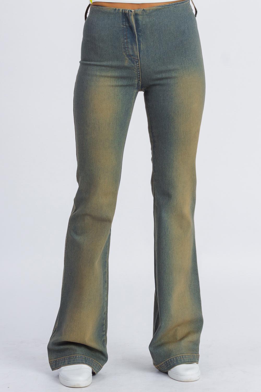 Джинсы джинсы женские oodji ultra цвет голубой джинс 12104065 1b 46734 7000w размер 28 32 46 32