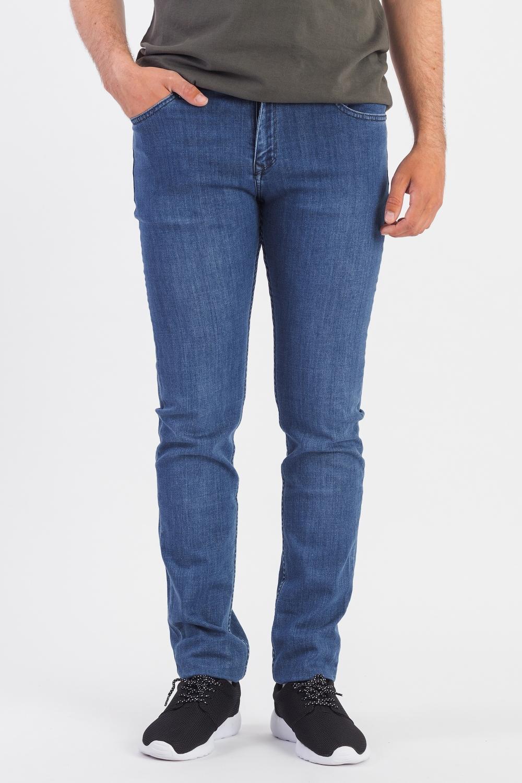 Джинсы джинсы женские oodji цвет синий джинс 12106150 47546 7500w размер 30 32 50 32