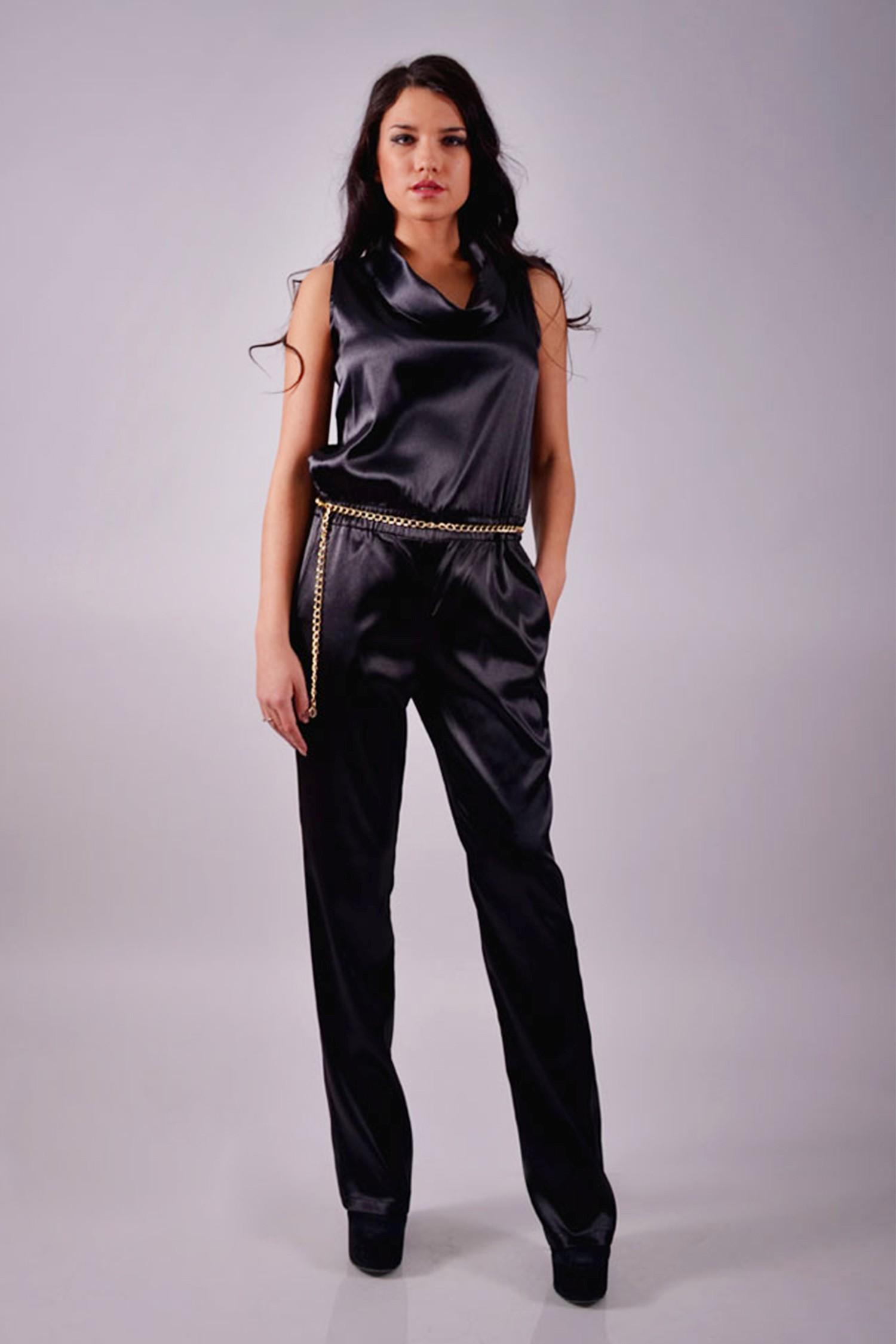 Женский атласный костюм лоск и благородство вашего образа GlaMiss