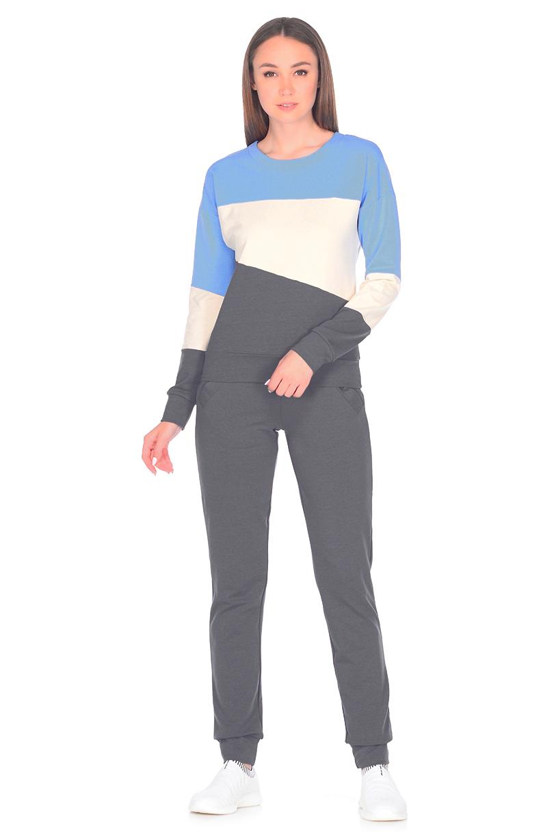 Фото - Костюм [супермаркет] jingdong новый мир семьи пижамы 2017 весной новый женский с длинными рукавами хлопок случайных костюм костюм xb57091 беж