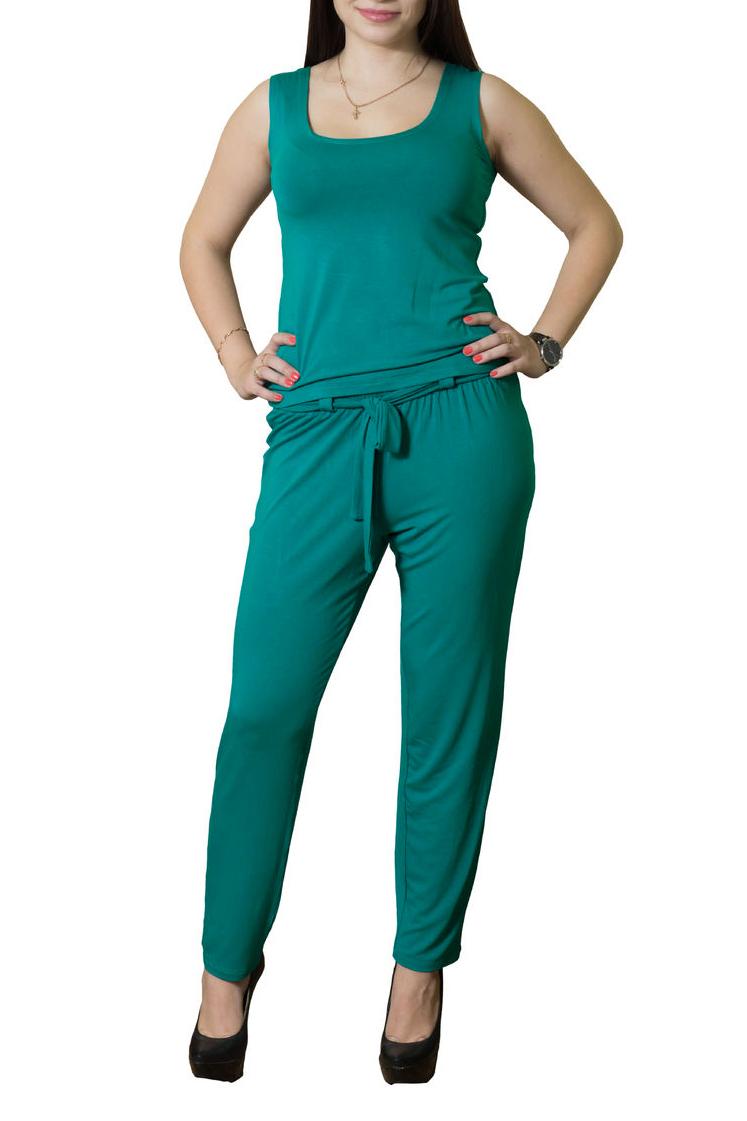 КостюмКостюмы<br>Замечательный женский костюм (майка + брюки) из приятной вискозы. Цвет: морская волна.<br><br>Горловина: С- горловина<br>По длине: Макси<br>По материалу: Вискоза,Трикотаж<br>По рисунку: Однотонные<br>По сезону: Лето<br>По силуэту: Приталенные<br>По форме: Брючные,Костюм двойка<br>По стилю: Летний стиль,Повседневный стиль<br>Рукав: Без рукавов<br>Бретели: Классические бретели<br>Размер : 44<br>Материал: Вискоза<br>Количество в наличии: 1