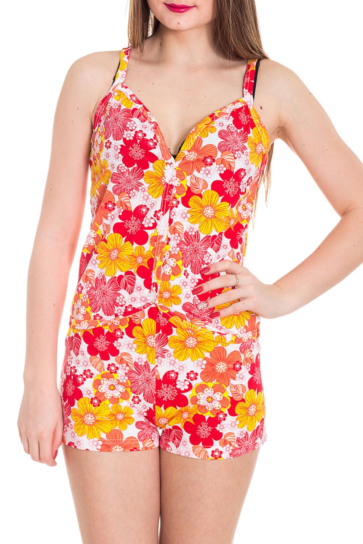 ПижамаПижамы<br>Хлопковая пижама состоит из майки и шортиков. Домашняя одежда, прежде всего, должна быть удобной, практичной и красивой. В наших изделиях Вы будете чувствовать себя комфортно, особенно, по вечерам после трудового дня.  Цвет: желтый, розовый, белый  Рост девушки-фотомодели 180 см<br><br>Бретели: Тонкие бретели<br>По силуэту: Полуприталенные<br>По форме: Костюм двойка,Брючный костюм<br>По сезону: Лето,Весна,Зима,Осень,Всесезон<br>Рукав: Без рукавов<br>По материалу: Трикотаж,Хлопок<br>По длине: До колена<br>Размер : 42,44,46,48,50,52<br>Материал: Трикотаж<br>Количество в наличии: 100