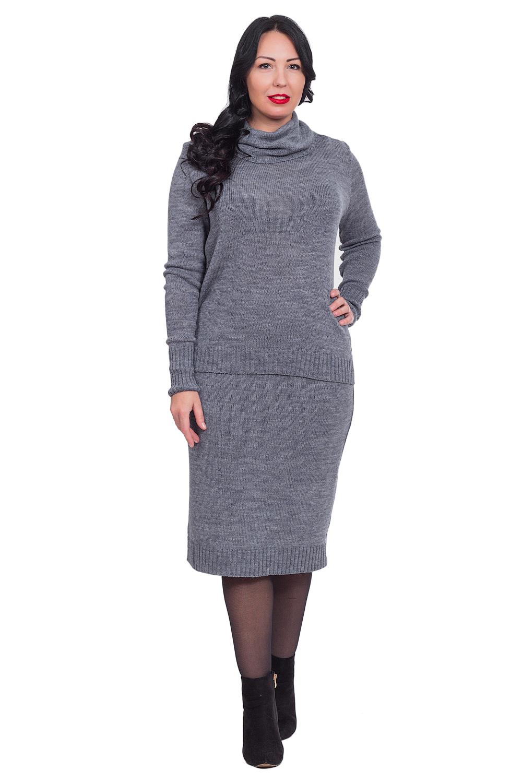 Костюм (свитер + юбка)