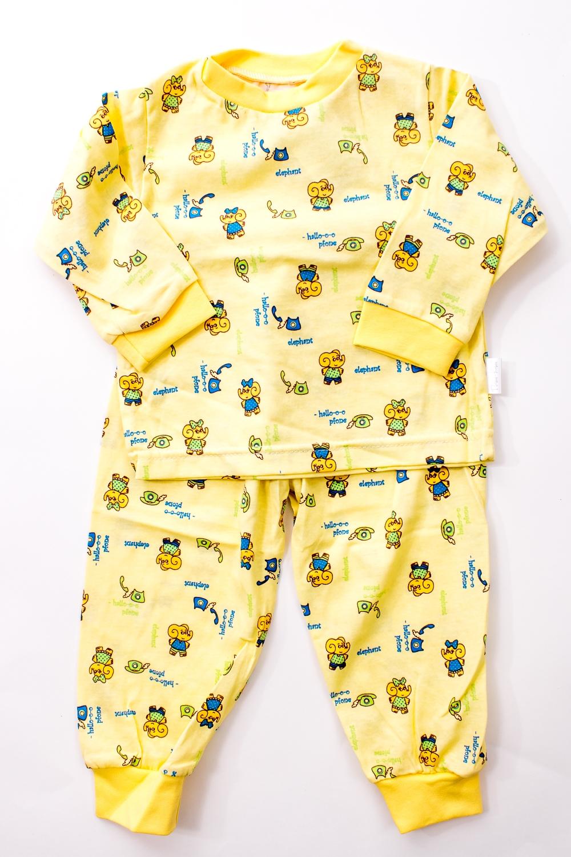 ПижамаПижамы<br>Хлопковая пижама для мальчика  Цвет: желтый и др.  Размер 74 соответствует росту 70-73 см Размер 80 соответствует росту 74-80 см Размер 86 соответствует росту 81-86 см Размер 92 соответствует росту 87-92 см Размер 98 соответствует росту 93-98 см Размер 104 соответствует росту 98-104 см Размер 110 соответствует росту 105-110 см Размер 116 соответствует росту 111-116 см Размер 122 соответствует росту 117-122 см Размер 128 соответствует росту 123-128 см Размер 134 соответствует росту 129-134 см Размер 140 соответствует росту 135-140 см Размер 146 соответствует росту 141-146 см<br><br>По сезону: Всесезон<br>Размер : 74,80<br>Материал: Трикотаж<br>Количество в наличии: 3