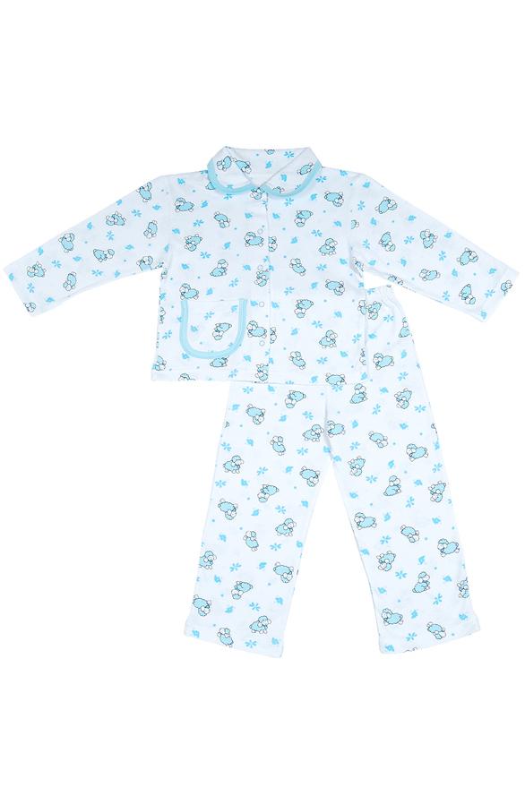 ПижамаПижамы<br>Цветная пижама для мальчика  Цвет: голубой, белый  Размер 74 соответствует росту 70-73 см Размер 80 соответствует росту 74-80 см Размер 86 соответствует росту 81-86 см Размер 92 соответствует росту 87-92 см Размер 98 соответствует росту 93-98 см Размер 104 соответствует росту 98-104 см Размер 110 соответствует росту 105-110 см Размер 116 соответствует росту 111-116 см Размер 122 соответствует росту 117-122 см Размер 128 соответствует росту 123-128 см Размер 134 соответствует росту 129-134 см Размер 140 соответствует росту 135-140 см Размер 146 соответствует росту 141-146 см<br><br>Размер : 92<br>Материал: Трикотаж<br>Количество в наличии: 1