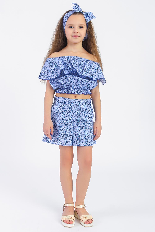 Костюм купальник слитный для девочки arina festivita цвет синий gi 011806 af размер 152 158