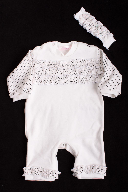 КомплектКомплекты<br>Мягкий комплект для девочки  Цвет: белый, черный  Размер соответствует росту ребенка.<br><br>По сезону: Всесезон<br>Размер : 56,74,80<br>Материал: Трикотаж<br>Количество в наличии: 4