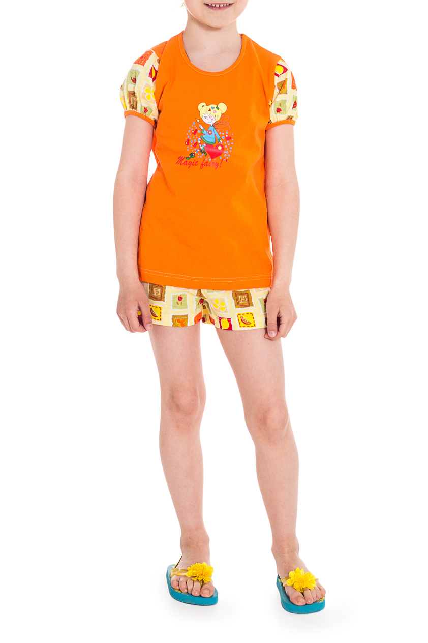 ПижамаПижамы<br>Хлопковая пижама для девочки.  Цвет: оранжевый, желтый и др.  Размер 74 соответствует росту 70-73 см Размер 80 соответствует росту 74-80 см Размер 86 соответствует росту 81-86 см Размер 92 соответствует росту 87-92 см Размер 98 соответствует росту 93-98 см Размер 104 соответствует росту 98-104 см Размер 110 соответствует росту 105-110 см Размер 116 соответствует росту 111-116 см Размер 122 соответствует росту 117-122 см Размер 128 соответствует росту 123-128 см Размер 134 соответствует росту 129-134 см Размер 140 соответствует росту 135-140 см Размер 146 соответствует росту 141-146 см Размер 152 соответствует росту 147-152 см Размер 158 соответствует росту 153-158 см Размер 164 соответствует росту 159-164 см<br><br>По сезону: Всесезон<br>Размер : 116<br>Материал: Хлопок<br>Количество в наличии: 1