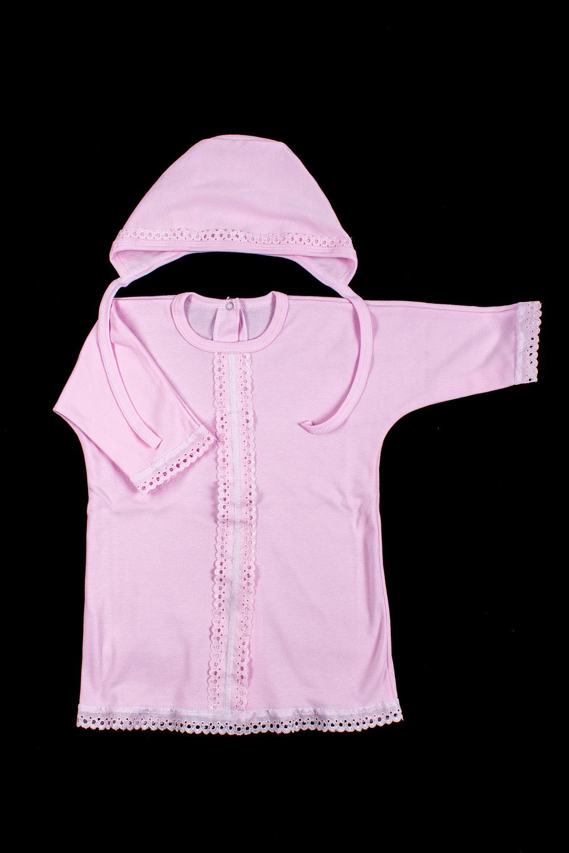 КомплектКомплекты<br>Хлопковый комплект для ребенка.  В изделии использованы цвета: розовый  Размер соответствует росту ребенка<br><br>Размер : 74<br>Материал: Хлопок<br>Количество в наличии: 1