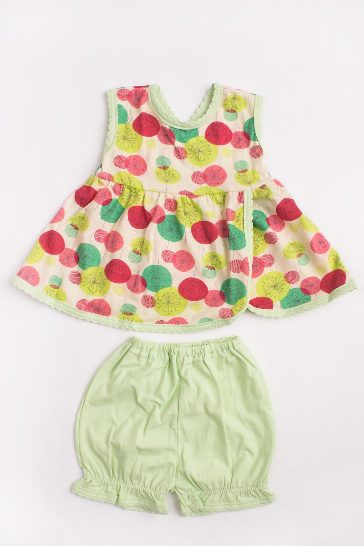 Комплект кофточка для девочки lucky child овечки цвет белый розовый светло зеленый 3 шт 30 146 размер 74 80 6 9 месяцев