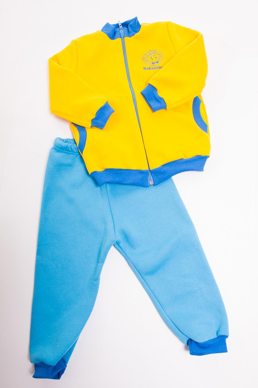 КостюмКостюмы<br>Хлопковый костюм для мальчика  Цвет: голубой, желтый  Размер 74 соответствует росту 70-73 см Размер 80 соответствует росту 74-80 см Размер 86 соответствует росту 81-86 см Размер 92 соответствует росту 87-92 см Размер 98 соответствует росту 93-98 см Размер 104 соответствует росту 98-104 см Размер 110 соответствует росту 105-110 см Размер 116 соответствует росту 111-116 см Размер 122 соответствует росту 117-122 см Размер 128 соответствует росту 123-128 см Размер 134 соответствует росту 129-134 см Размер 140 соответствует росту 135-140 см Размер 146 соответствует росту 141-146 см Размер 152 соответствует росту 147-152 см Размер 158 соответствует росту 153-158 см Размер 164 соответствует росту 159-164 см<br><br>Воротник: Стойка<br>По длине: Миди<br>По материалу: Трикотажные,Хлопковые<br>По образу: Повседневные,Спорт<br>По рисунку: Цветные<br>По сезону: Весна,Осень<br>По силуэту: Полуприталенные<br>По элементам: С карманами,С молнией<br>Рукав: Длинный рукав,С манжетой<br>По возрасту: Ясельные ( от 1 до 3 лет)<br>Размер : 80,98<br>Материал: Хлопок<br>Количество в наличии: 2