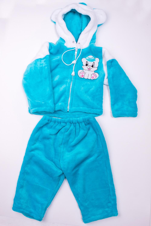 КостюмКомплекты<br>Мягкий костюм для мальчика  В изделии использованы цвета: голубой и др.  Размер соответствует росту ребенка<br><br>По сезону: Осень,Весна<br>Размер : 68<br>Материал: Велсофт<br>Количество в наличии: 1