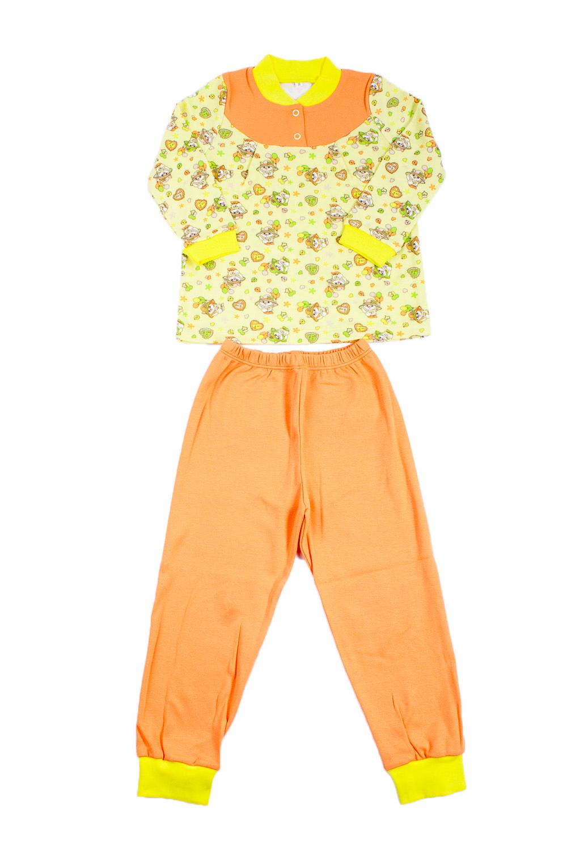 ПижамаПижамы<br>Хлопковая пижама для девочки.  В изделии использованы цвета: оранжевый, зеленый и др.  Размер 74 соответствует росту 70-73 см Размер 80 соответствует росту 74-80 см Размер 86 соответствует росту 81-86 см Размер 92 соответствует росту 87-92 см Размер 98 соответствует росту 93-98 см Размер 104 соответствует росту 98-104 см Размер 110 соответствует росту 105-110 см Размер 116 соответствует росту 111-116 см Размер 122 соответствует росту 117-122 см Размер 128 соответствует росту 123-128 см Размер 134 соответствует росту 129-134 см Размер 140 соответствует росту 135-140 см<br><br>По сезону: Всесезон<br>Размер : 110,98<br>Материал: Хлопок<br>Количество в наличии: 2
