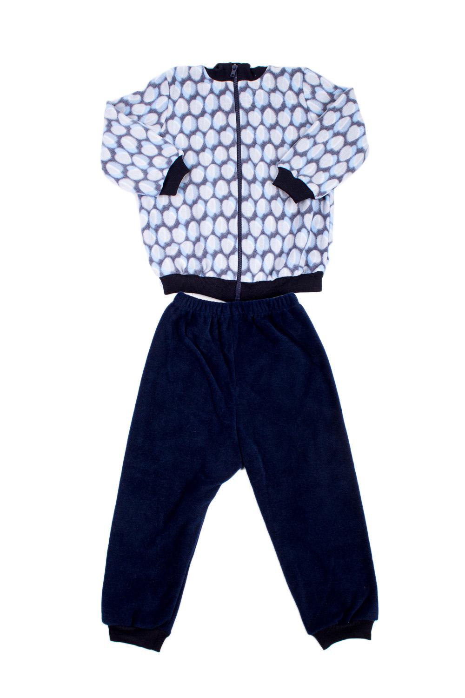 ПижамаПижамы<br>Утепленная пижама для мальчика.  В изделии использованы цвета: синий и др.<br><br>По сезону: Осень,Весна<br>Размер : 80,86,98<br>Материал: Флис<br>Количество в наличии: 3