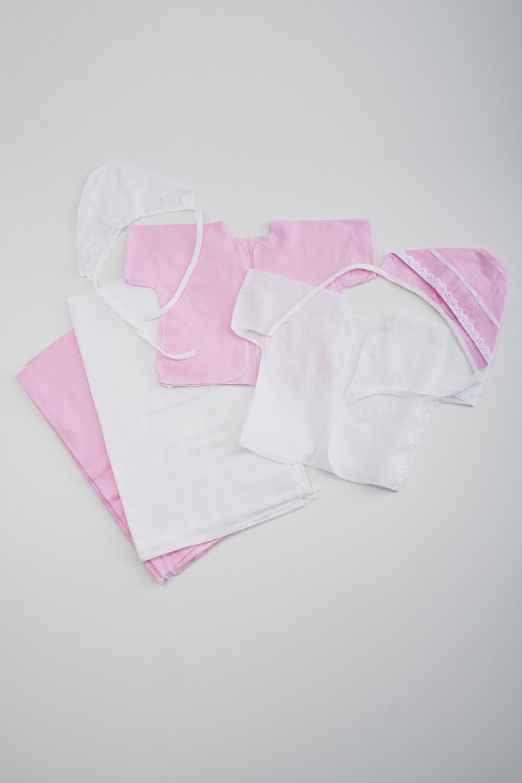 Комплект комплект фланелевых пеленок нева бэби звёздочка 2 шт розовый