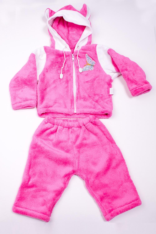 КостюмКомплекты<br>Мягкий костюм для девочки  В изделии использованы цвета: розовый и др.  Размер соответствует росту ребенка<br><br>По сезону: Осень,Весна<br>Размер : 68<br>Материал: Велсофт<br>Количество в наличии: 1