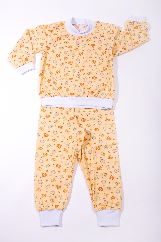 ПижамаПижамы<br>Хлопковая пижама для мальчика.  В изделии использованы цвета: желтый и др.  Размер 74 соответствует росту 70-73 см Размер 80 соответствует росту 74-80 см Размер 86 соответствует росту 81-86 см Размер 92 соответствует росту 87-92 см Размер 98 соответствует росту 93-98 см Размер 104 соответствует росту 98-104 см Размер 110 соответствует росту 105-110 см Размер 116 соответствует росту 111-116 см Размер 122 соответствует росту 117-122 см Размер 128 соответствует росту 123-128 см Размер 134 соответствует росту 129-134 см Размер 140 соответствует росту 135-140 см<br><br>По сезону: Осень,Весна<br>Размер : 86<br>Материал: Хлопок<br>Количество в наличии: 1