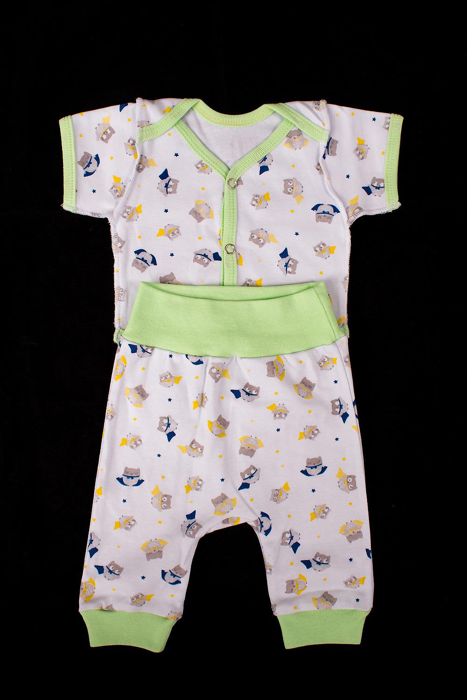 Комплект боди для новорожденных мамуляндия мозаика цвет молочный 18 0701 размер 50