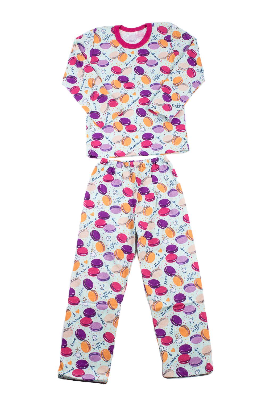 ПижамаПижамы<br>Трикотажная пижама для девочки.  В изделии использованы цвета: голубой, фиолетовый и др.  Размер 74 соответствует росту 70-73 см Размер 80 соответствует росту 74-80 см Размер 86 соответствует росту 81-86 см Размер 92 соответствует росту 87-92 см Размер 98 соответствует росту 93-98 см Размер 104 соответствует росту 98-104 см Размер 110 соответствует росту 105-110 см Размер 116 соответствует росту 111-116 см Размер 122 соответствует росту 117-122 см Размер 128 соответствует росту 123-128 см Размер 134 соответствует росту 129-134 см Размер 140 соответствует росту 135-140 см<br><br>По сезону: Всесезон<br>Размер : 116<br>Материал: Трикотаж<br>Количество в наличии: 1