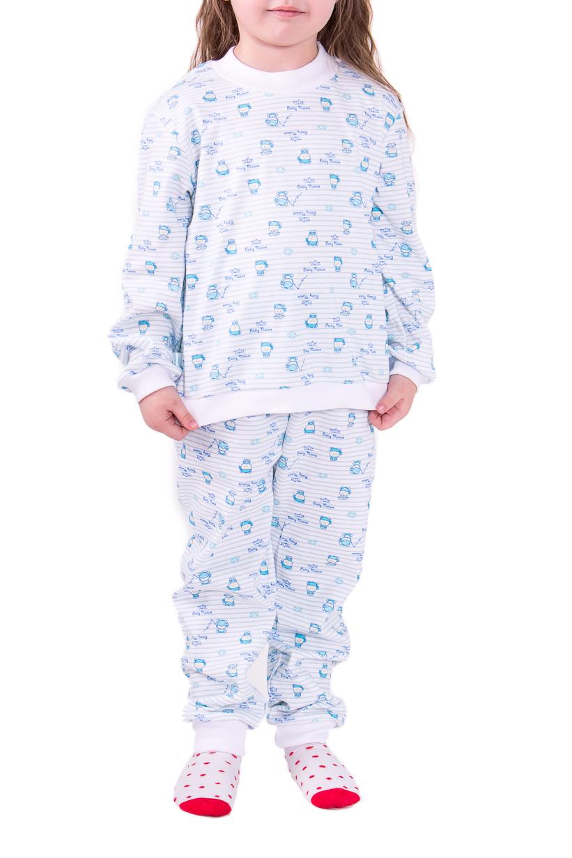 ПижамаПижамы<br>Хлопковая пижама для мальчика  Размер 98 соответствует росту 93-98 см Размер 110 соответствует росту 105-110 см   Цвет: голубой, белый<br><br>По сезону: Зима<br>Размер : 110,98<br>Материал: Хлопок<br>Количество в наличии: 1