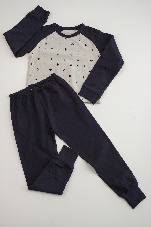Комплект платье для девочки tom tailor цвет серый темно синий 5019899 00 81 1000 размер 92 98