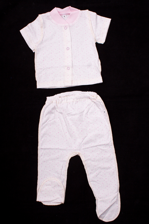 КомплектКомплекты<br>Хлопковый комплект для новорожденного.  В изделии использованы цвета: розовый  Размер соответствует росту ребенка.<br><br>По сезону: Всесезон<br>Размер : 56,62<br>Материал: Хлопок<br>Количество в наличии: 2