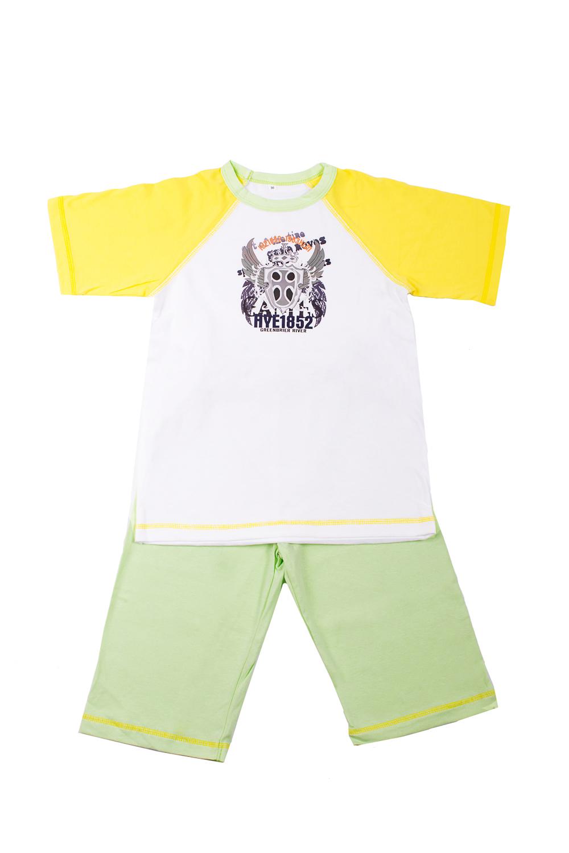 Комплект комплект одежды looklie салатовый 122 128 размер