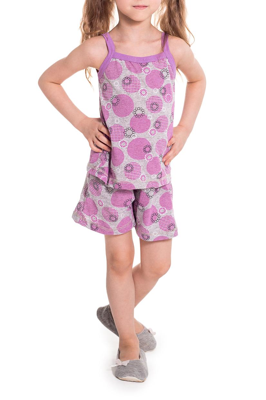 ПижамаПижамы<br>Хлопковая пижама для девочки  Цвет: серый, розовый   Размер 74 соответствует росту 70-73 см Размер 80 соответствует росту 74-80 см Размер 86 соответствует росту 81-86 см Размер 92 соответствует росту 87-92 см Размер 98 соответствует росту 93-98 см Размер 104 соответствует росту 98-104 см Размер 110 соответствует росту 105-110 см<br><br>По сезону: Всесезон<br>Размер : 104<br>Материал: Хлопок<br>Количество в наличии: 1
